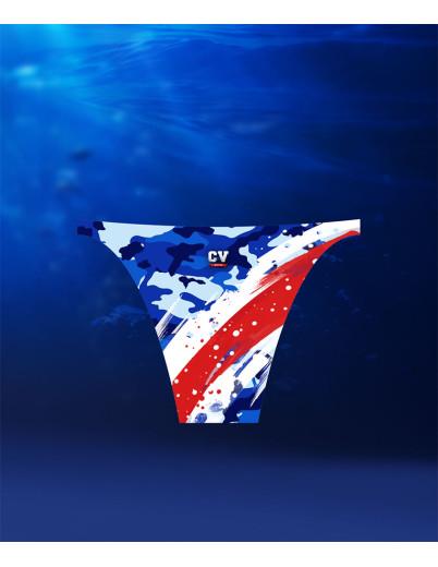 CV Monte Cara Blue Camouflage Bikini