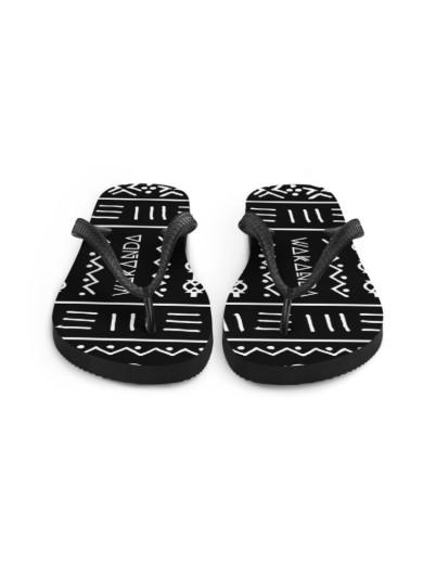 eXOTRik Black Panther Wakanda Flip Flops